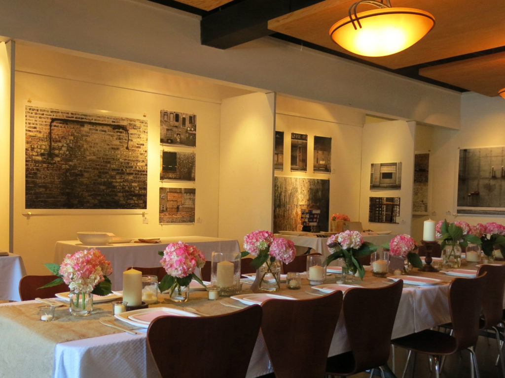 Pacific Place Urban Senior Living has parties at the Old Orchard Gallery